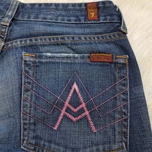 7 For All Mankind Jeans 🔥Rare Pink Diamond 🔥